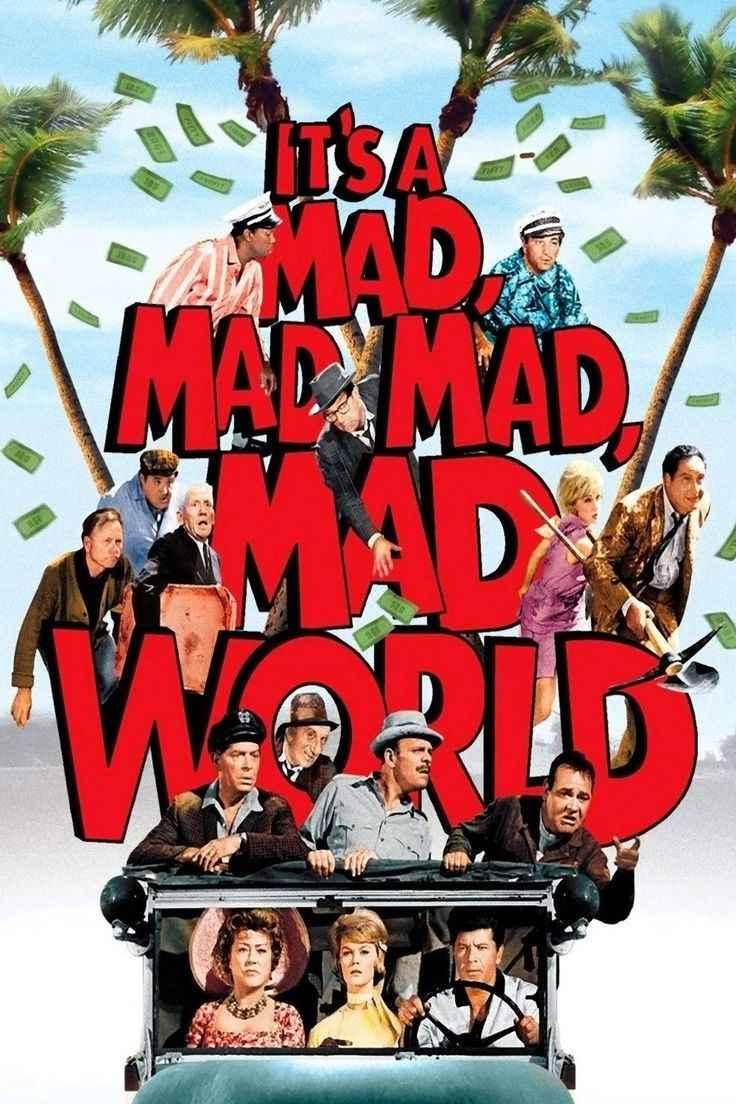 دانلود فیلم دوبله فارسی It's A Mad Mad Mad Mad World 1963