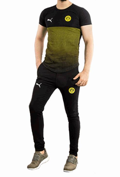 ست تیشرت و شلوار Puma مدل B.Dortmund