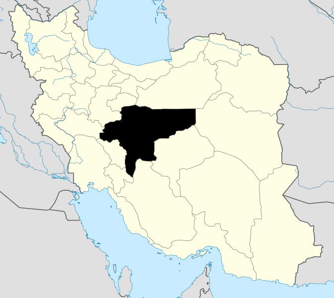 Isfahan map
