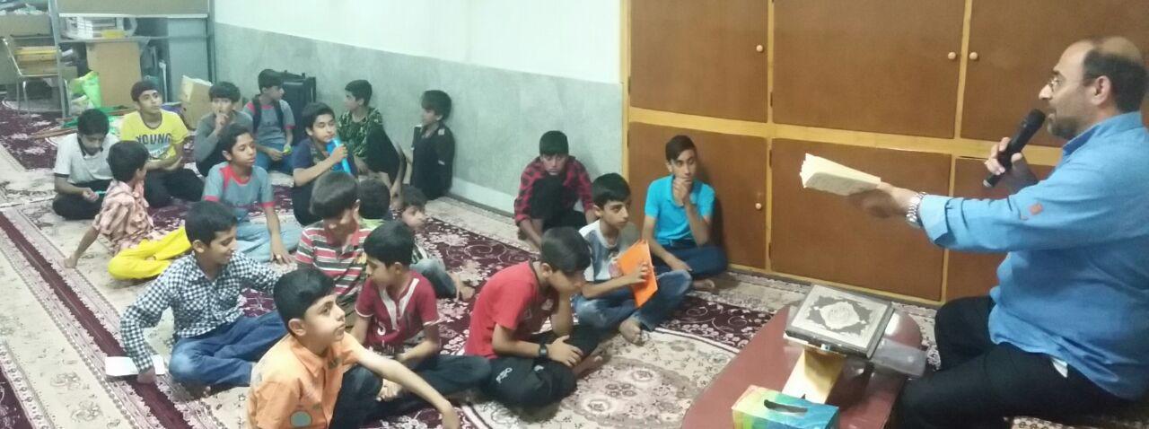برگزاری کلاس های مقاله نویسی توسط استاد احسان حسین شیری (طرح محراب مساجد)