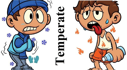 معتدل – Temperate – آموزش لغات کتاب ۵٠۴ – English Vocabulary – کدینگ لغات ۵٠۴