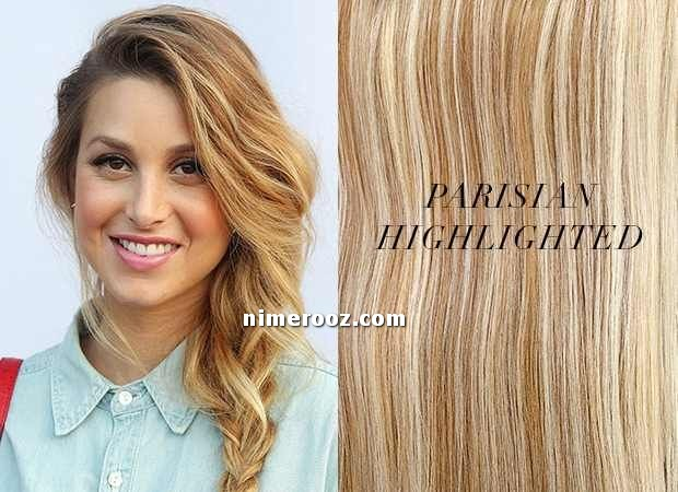 عکس و فرمول رنگ مو شنی هایلایت مو به رنگ شنی روشن و متوسط رنگ مو ماسه ای با هایلایت شنی رنگ مو بلوند روشن شیک سال 2018