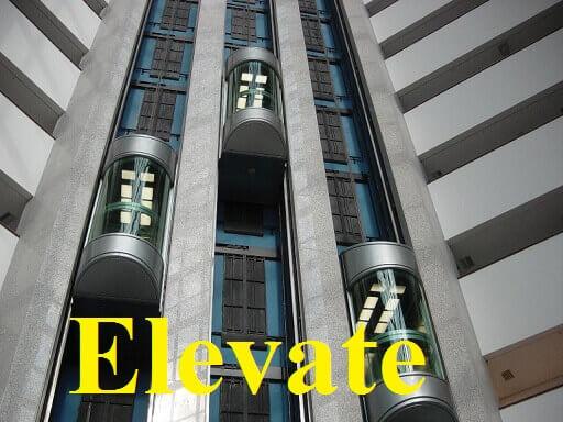 بالا بردن – Elevate – آموزش لغات کتاب ۵٠۴ – English Vocabulary – کدینگ لغات ۵٠۴