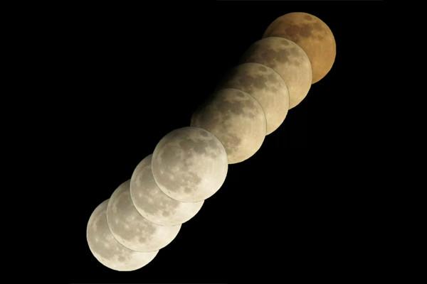 ماه گرفتگی امشب، دوشنبه شانزدهم مرداد را از دست ندهید!