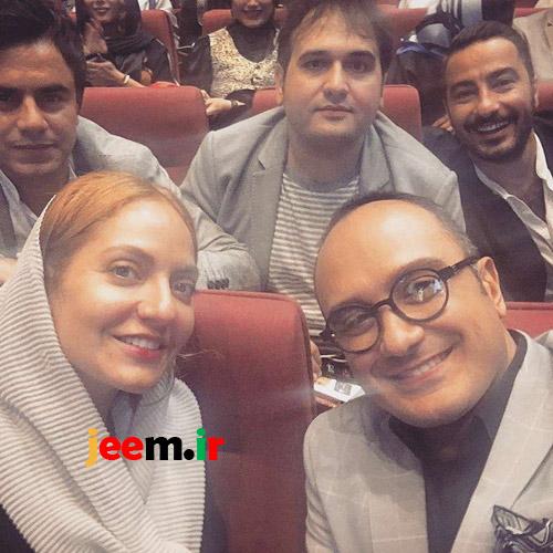 عکس بازیگران زن و مرد جشن حافظ 96