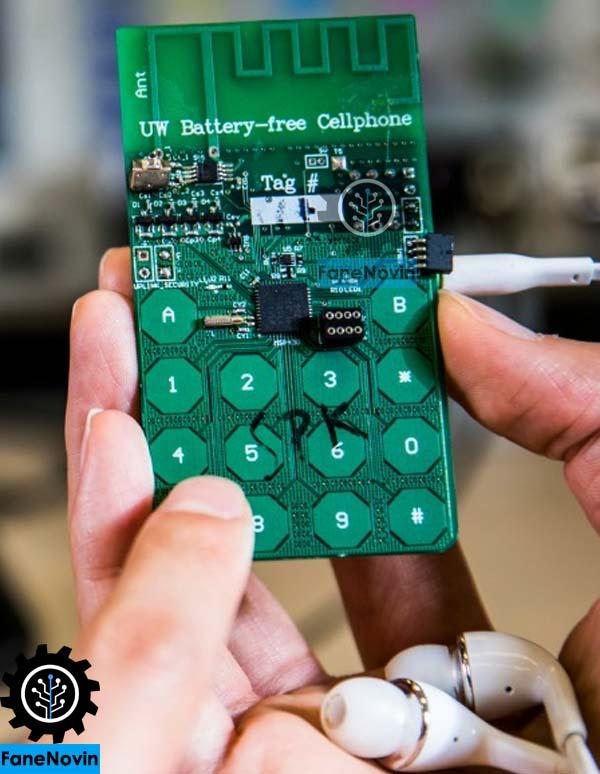 نخستین موبایل بدون باتری جهان به دست محققان آمریکایی ساخته شد