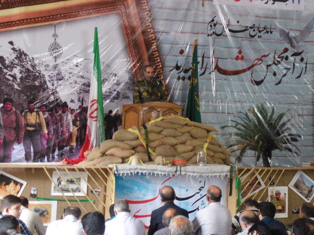 گزارش تصویری از بیست و چهارمین جشنواره اشک و لبخند شهدای نیاک