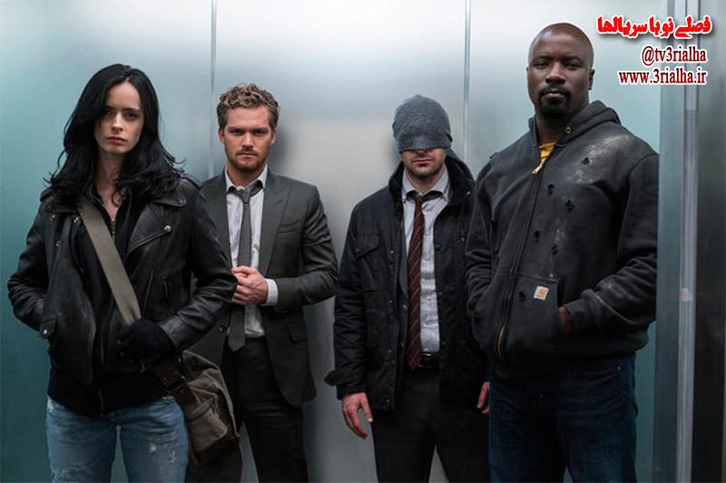 پوستر جدید سریال The Defenders منتشر شد.