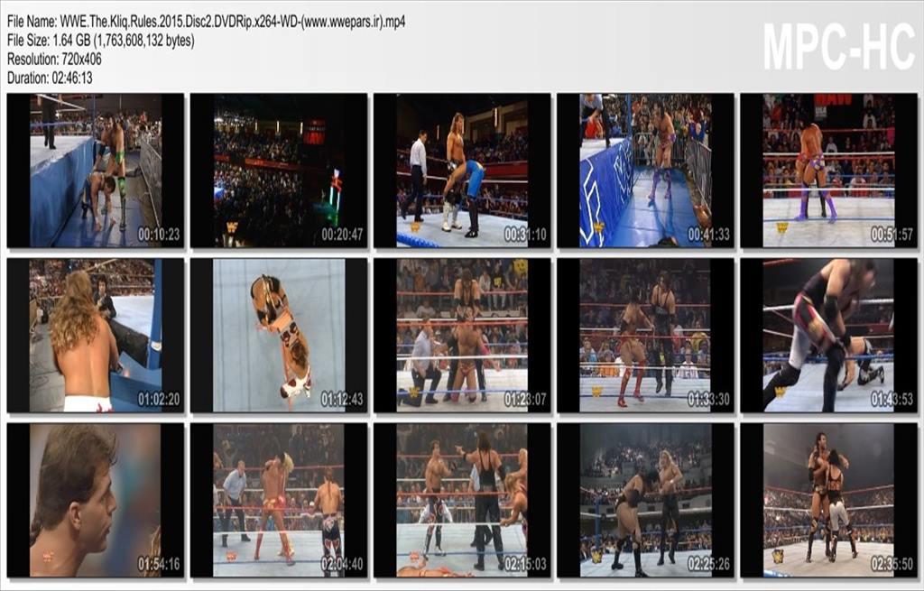 WWE The Kliq Rules