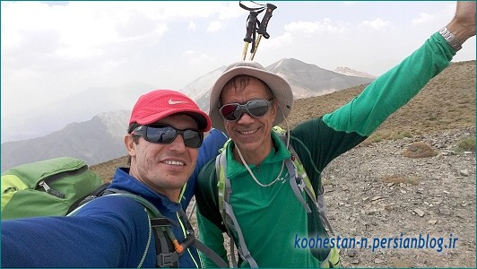 مسیر قله کرچان