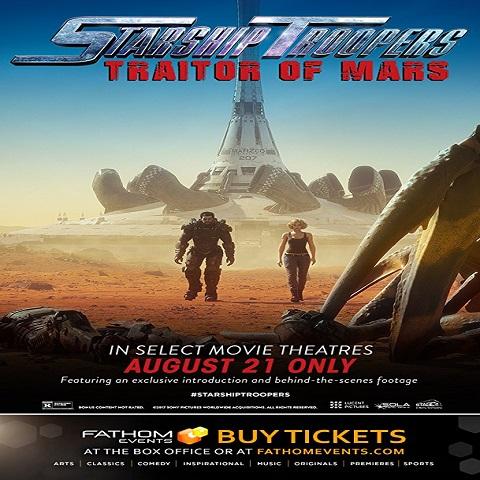 دانلود فیلم Starship Troopers Traitor Of Mars 2017 با دوبله فارسی