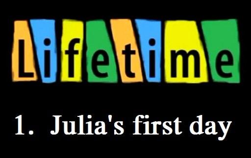 روز کاری اول جولیا - Julia's first day