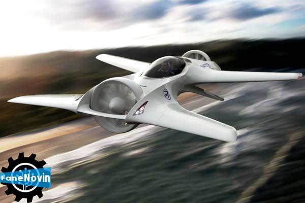 خودروی پرنده عمودپرواز شرکت دلورین معرفی شد  فن نوین