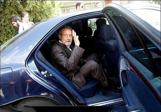 عکس ماشین پسر لاریجانی | پسر علی لاریجانی چه ماشینی دارد