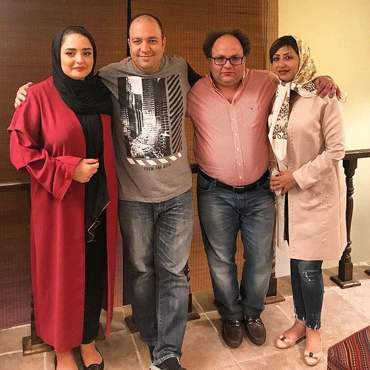 جدید ترین عکس نرگس محمدی و همسرش علی اوجی