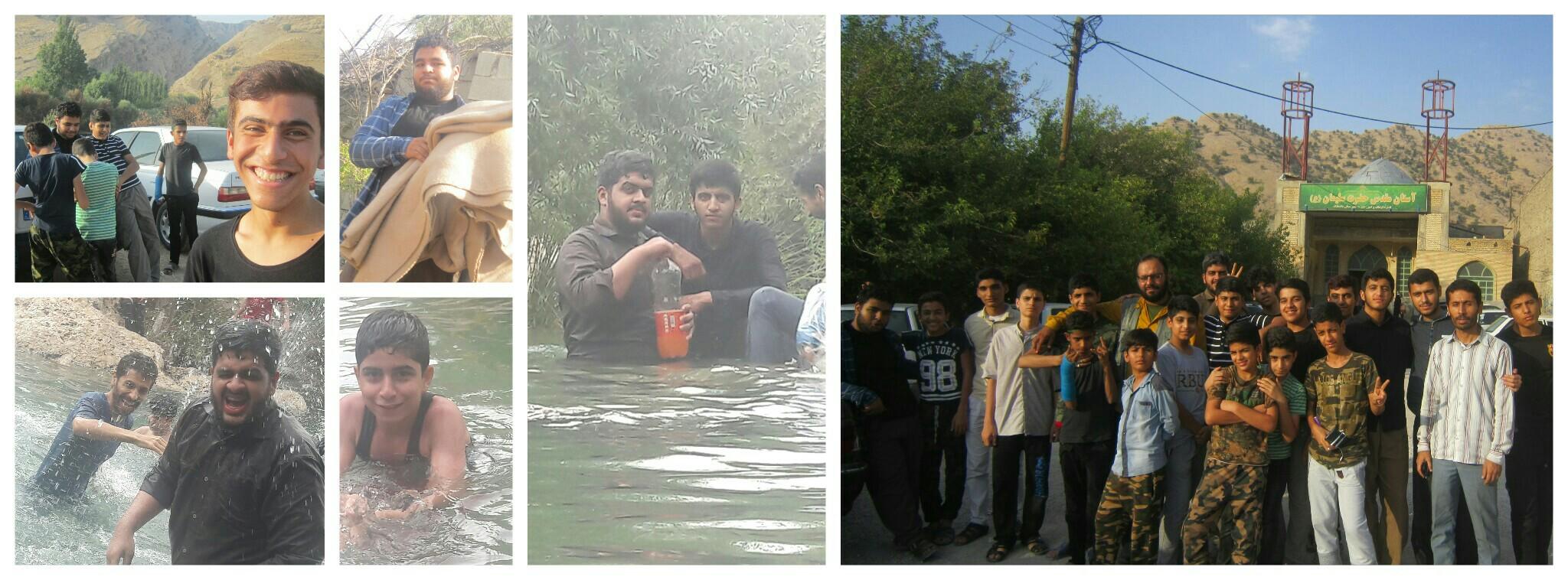 گزارش تصویری اردو باغملک
