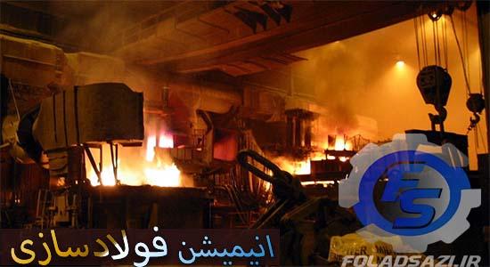 انیمیشن مراحل تولید فولاد در کارخانه arcelormittal هامبورگ