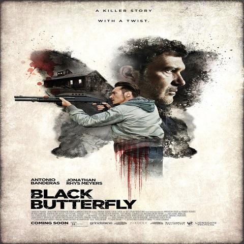 دانلود فیلم Black Butterfly 2017 با دوبله فارسی