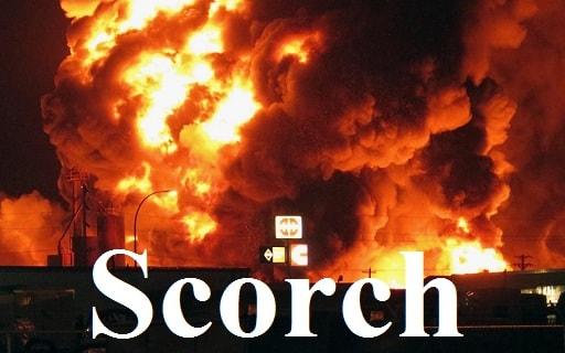 سوزاندن – Scorch – آموزش لغات کتاب ۵٠۴ – English Vocabulary – کدینگ لغات ۵٠۴
