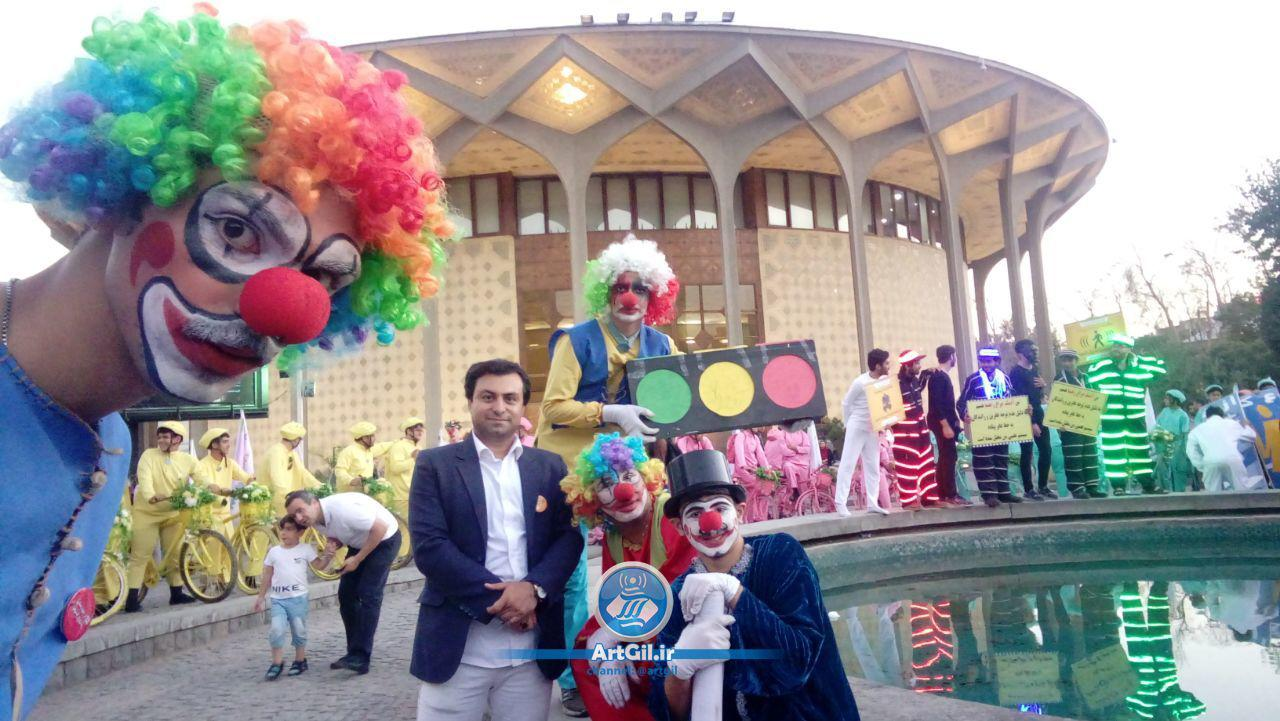 آخرین اجرای نمایش « جشن دلقکها »/گزارش تصویری