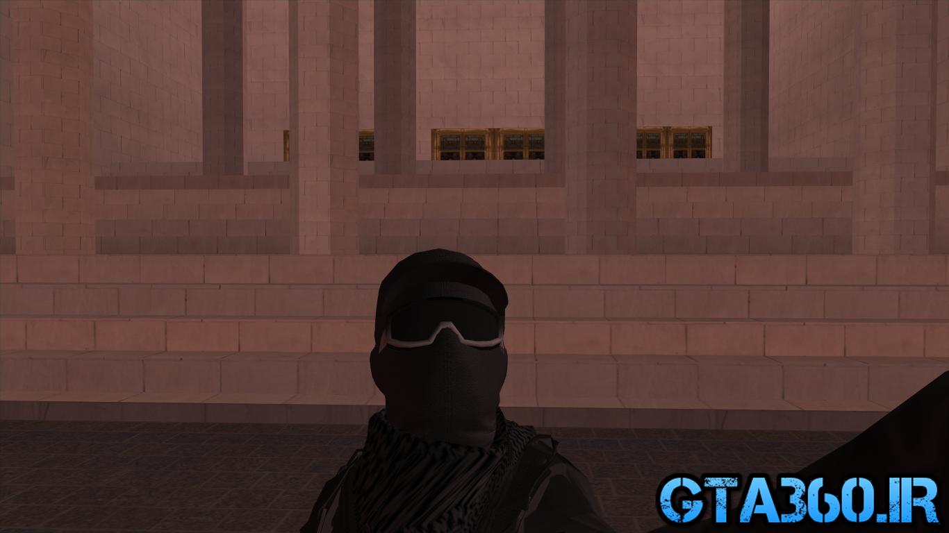 دانلود اسکین Black Army از Gta Online برای Gta Sa