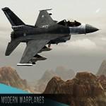 Modern war plane