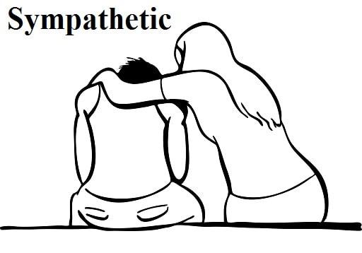 دلسوز – Sympathetic – آموزش لغات کتاب ۵٠۴ – English Vocabulary – کدینگ لغات ۵٠۴