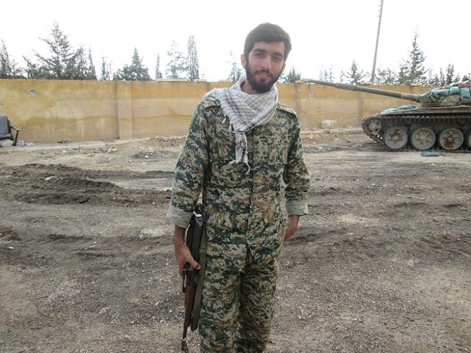 پیکر شهید حججی به نیروهای مقاومت تحویل داده شد