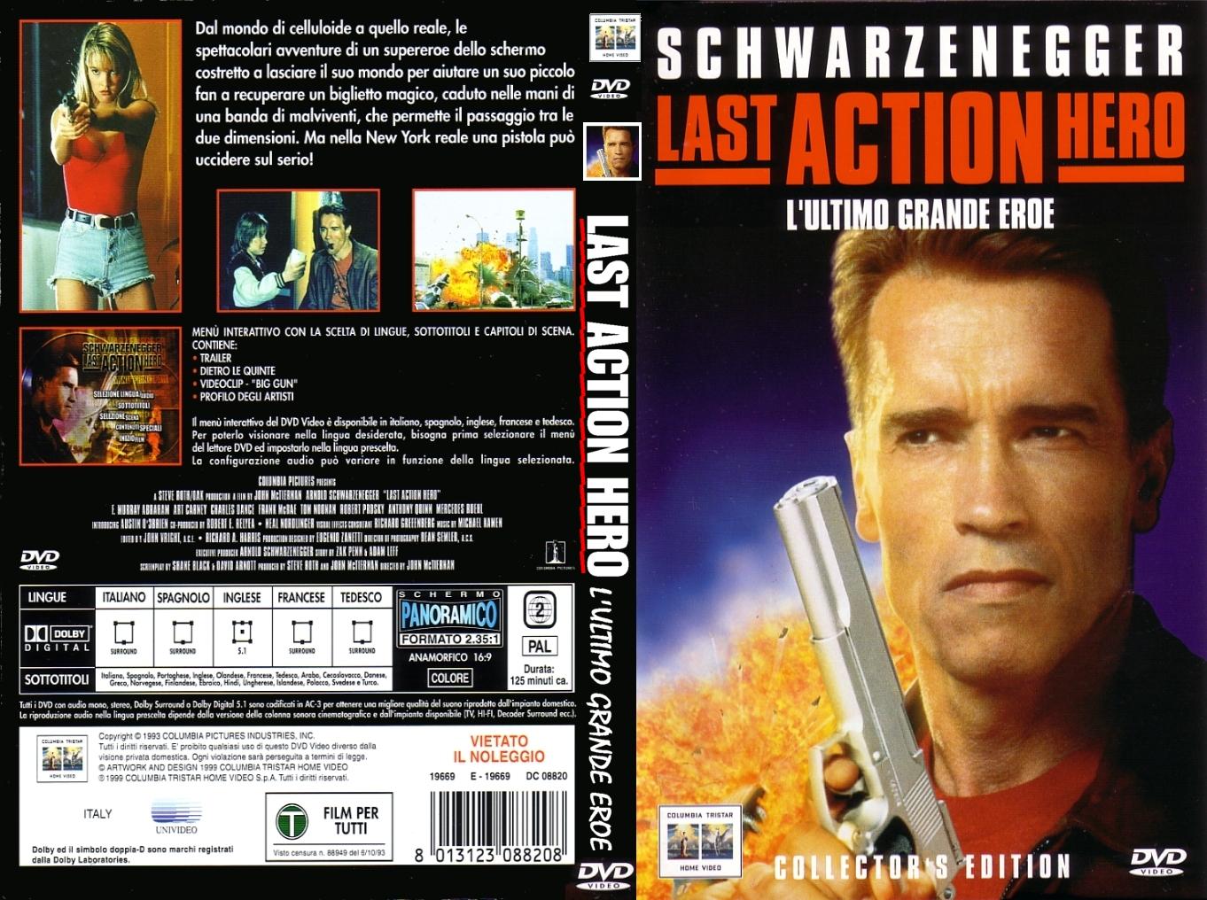 کاور فیلم های Arnold Schwarzenegger