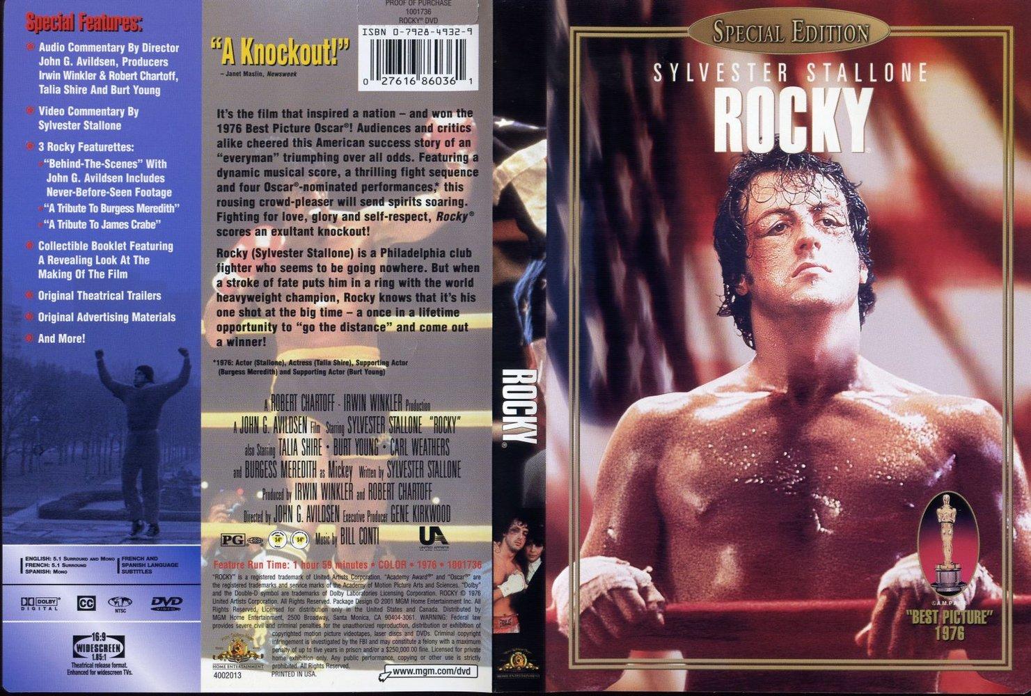 کاور فیلم Rocky