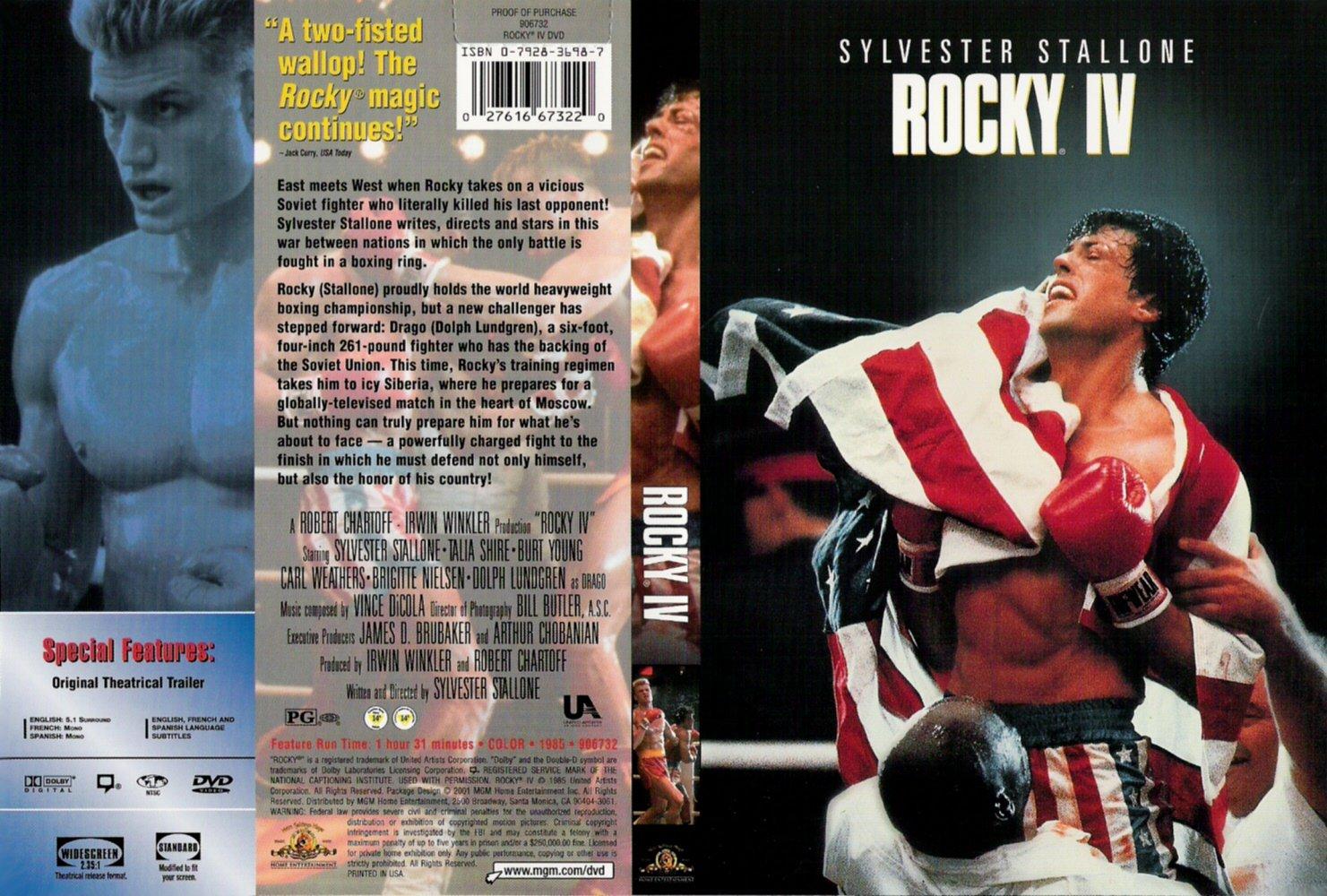 کاور فیلم Rocky IV