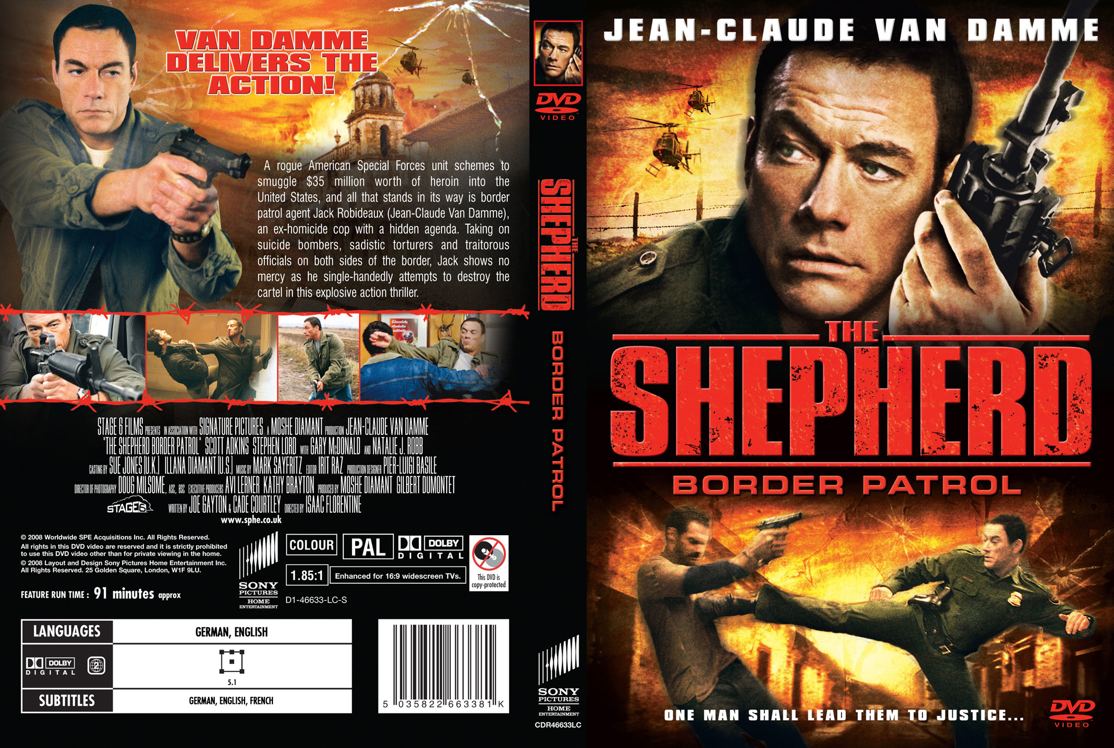 کاور فیلم The Shepherd Border Patrol