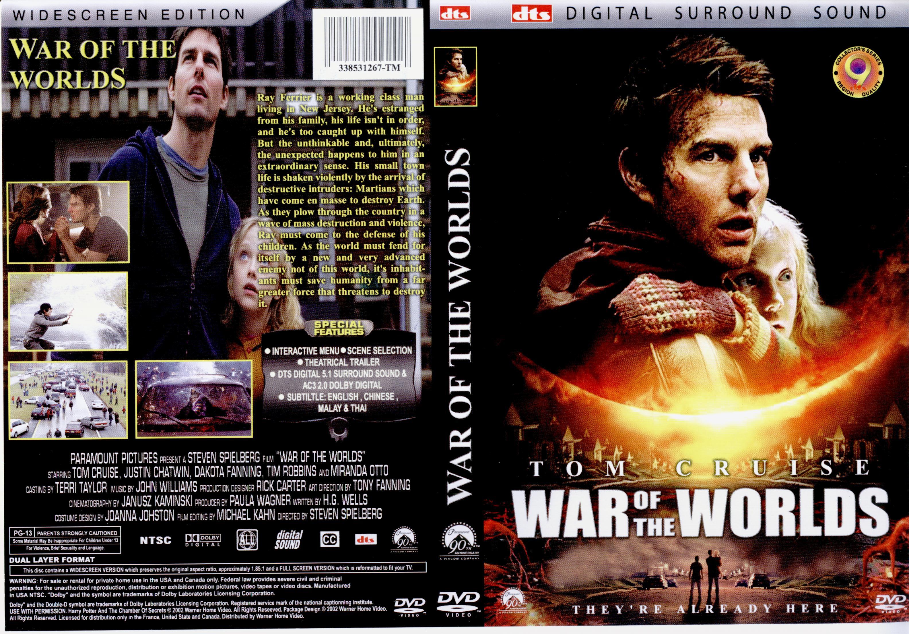 کاور فیلم War of the Worlds