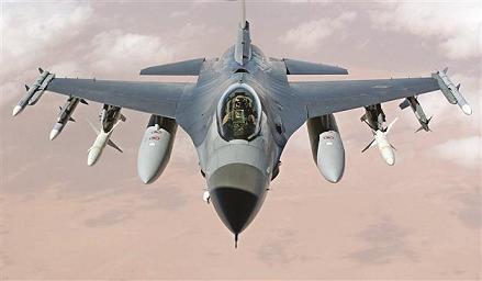 فروش هواپيماهاي F16 اسرائيل