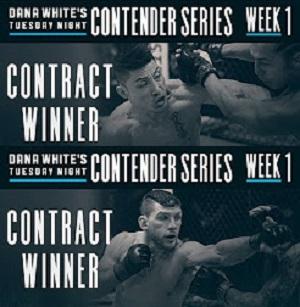 دانلود فصل اول مبارزات Dana White's Tuesday Night Contender Series