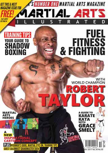 Martial Arts Illustrated October 2017