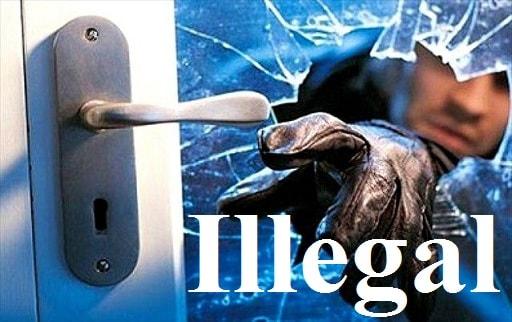 غیر قانونى– Illegal – آموزش لغات کتاب ۵٠۴ – English Vocabulary – کدینگ لغات ۵٠۴