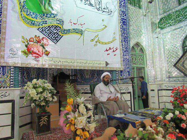 جشن عید غدیر در جوار امامزاده سید جلال الدین اشرف علیه السلام  برگزار شد