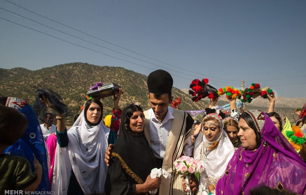 عروسی قوم بختیاری
