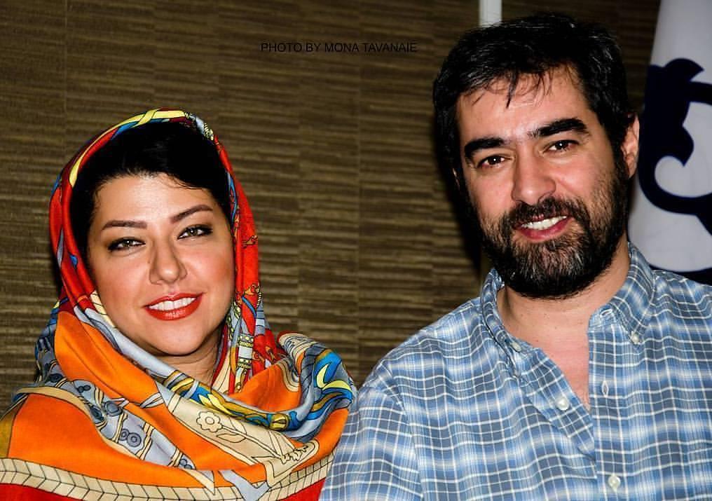 عکس جدید شهاب حسینی با همسرش