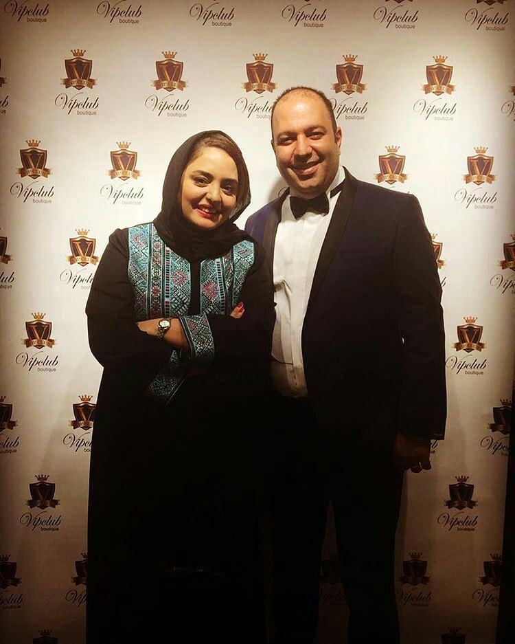 عکس متفاوت نرگس محمدی و همسرش