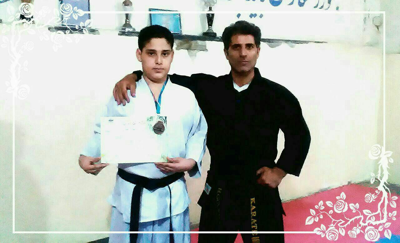 کسب مقام سوم و مدال برنز مسابقات قهرمانی کاراته کشور توسط آقای یاشار شریفی قاضی جهانی