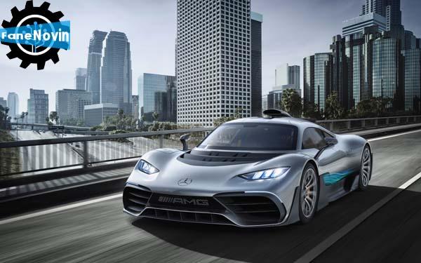ابرخودروی مرسدس AMG پروژه یک، رسما معرفی شد