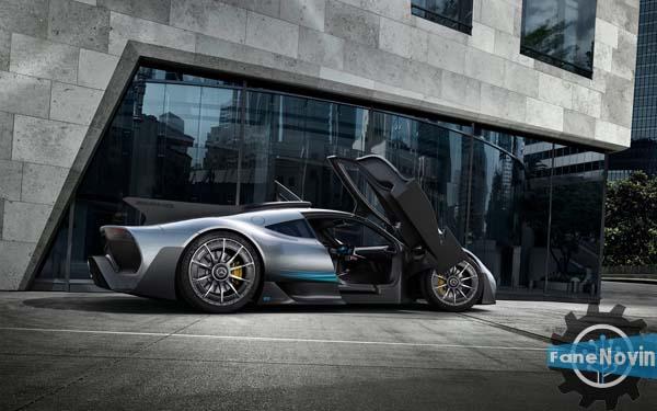 ابرخودروی مرسدس AMG پروژه یک، رسما معرفی شد fanenovin فن نوین