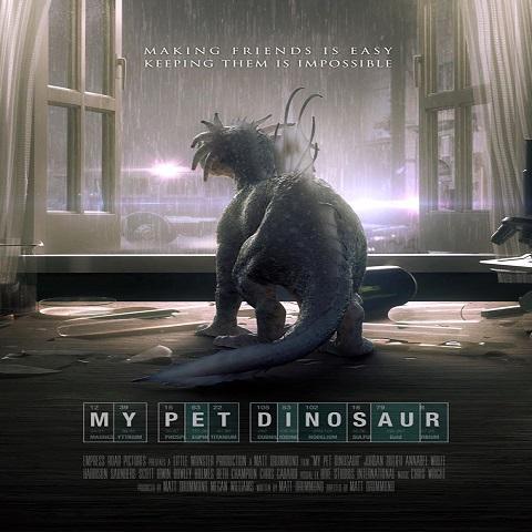 دانلود فیلم My Pet Dinosaur 2017 با دوبله فارسی