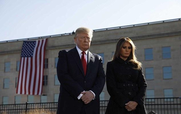 شانزدهمین سالگرد حمله یازدهم سپتامبر در کاخ سفید