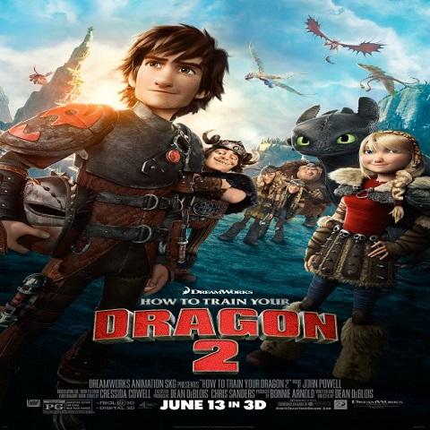 دانلود فیلم How to Train Your Dragon 2 2014 با دوبله فارسی