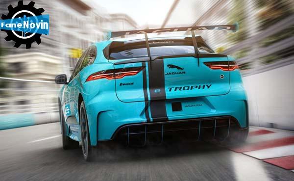Jaguar I-Pace eTrophy tk k,dk فن نوین fanenovin