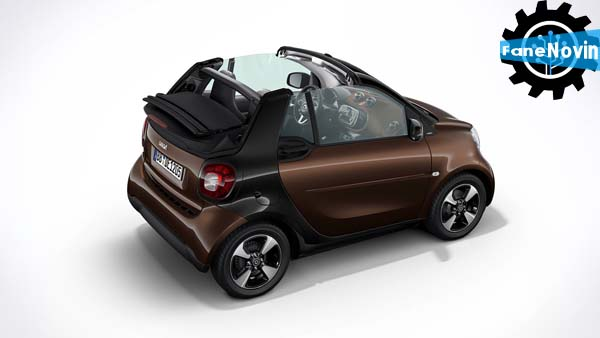 15th Anniversary Edition Smart Fortwo   نمایشگاه خودرو فرانکفورت   ماشین کوچولو اسمارت