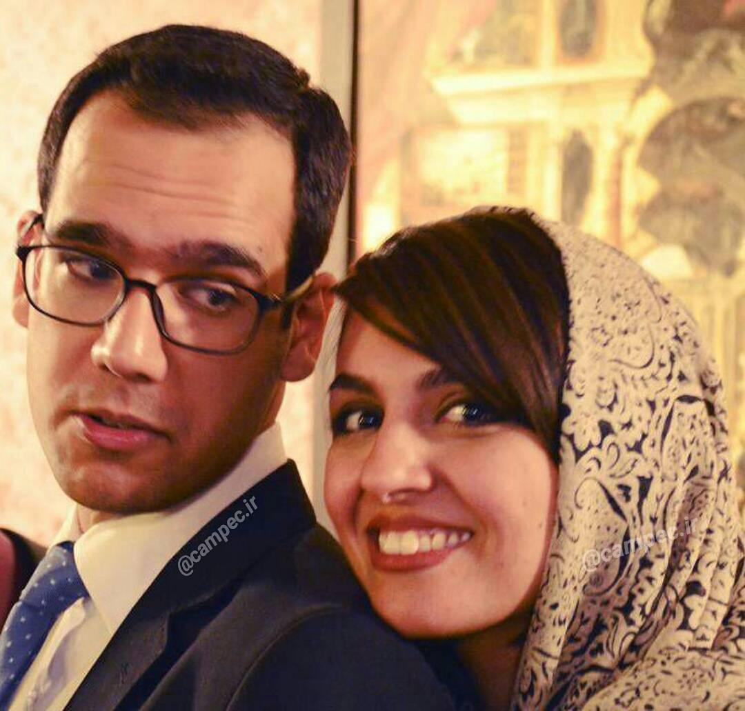 عکس بهزاد قدیانلو با همسرش